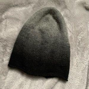 Ombré knit beanie